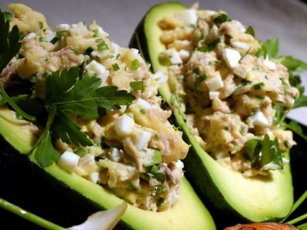 Foto: krewetki z avocado