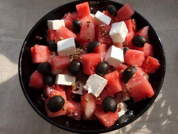 Fota: salatka z arbuza 3